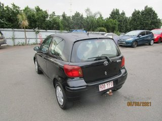 2004 Toyota Echo NCP10R Black 4 Speed Automatic Hatchback