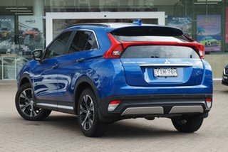 2018 Mitsubishi Eclipse Cross YA MY18 Exceed (2WD) Blue Continuous Variable Wagon.