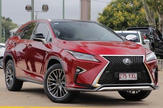 2016 Lexus RX GGL25R RX350 F Sport Red 8 Speed Sports Automatic Wagon.