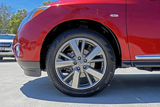 2014 Nissan Pathfinder R52 MY14 Ti X-tronic 4WD Red 1 Speed Constant Variable Wagon