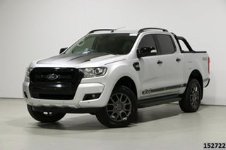 2018 Ford Ranger PX MkII MY18 FX4 Special Edition Silver 6 Speed Automatic Double Cab Pick Up.