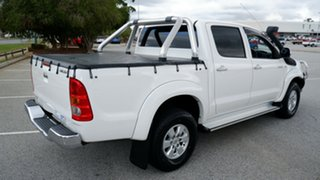 2009 Toyota Hilux KUN26R MY09 SR5 White 4 Speed Automatic Utility