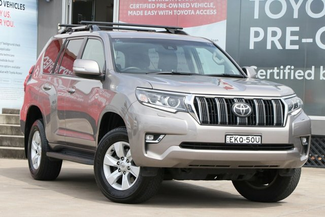 Pre-Owned Toyota Landcruiser Prado GDJ150R GXL Guildford, 2018 Toyota Landcruiser Prado GDJ150R GXL Positano Bronze 6 Speed Sports Automatic Wagon