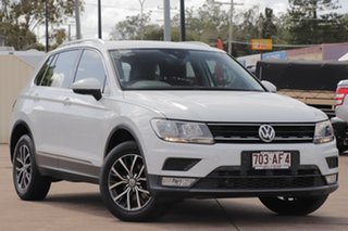 2016 Volkswagen Tiguan 5N MY17 110TDI DSG 4MOTION Comfortline Pure White 7 Speed.