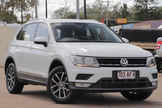 Used Volkswagen Tiguan 5N MY17 110TDI DSG 4MOTION Comfortline Bundamba, 2016 Volkswagen Tiguan 5N MY17 110TDI DSG 4MOTION Comfortline Pure White 7 Speed