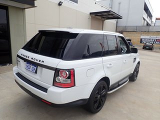 2012 Land Rover Range Rover Sport L320 12MY SDV6 Diamond Bright White 6 Speed Sports Automatic Wagon