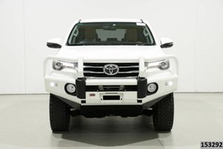 2018 Toyota Fortuner GUN156R MY18 Crusade White 6 Speed Automatic Wagon.