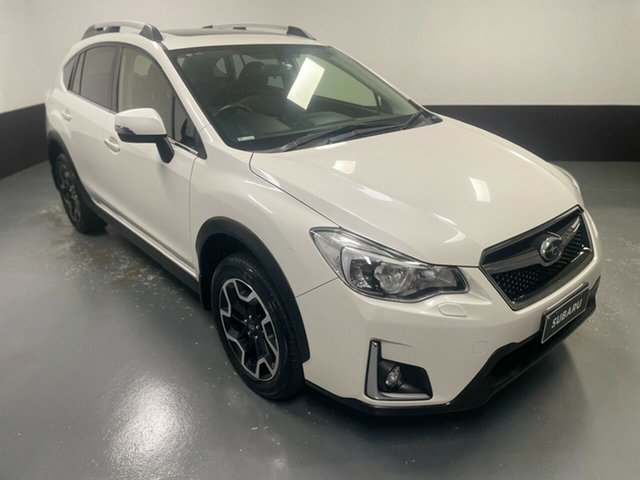 Used Subaru XV G4X MY16 2.0i Lineartronic AWD Hamilton, 2016 Subaru XV G4X MY16 2.0i Lineartronic AWD White 6 Speed Constant Variable Wagon