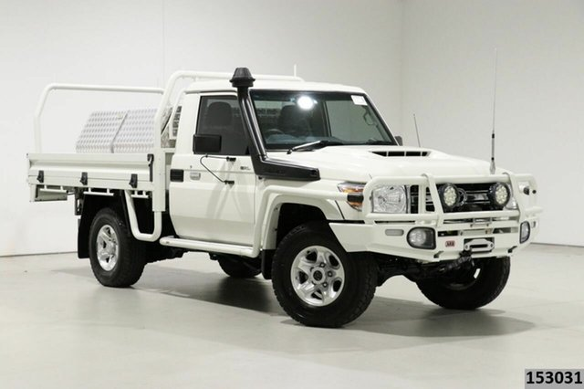 Used Toyota Landcruiser LC70 VDJ79R MY17 GXL (4x4) Bentley, 2016 Toyota Landcruiser LC70 VDJ79R MY17 GXL (4x4) White 5 Speed Manual Cab Chassis