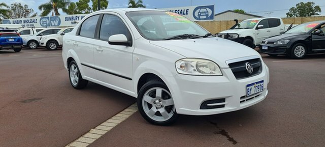 Used Holden Barina TK East Bunbury, 2006 Holden Barina TK White 4 Speed Automatic Sedan