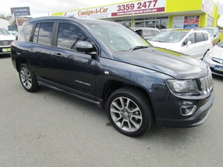 2014 Jeep Compass MK MY15 Limited Grey 6 Speed Sports Automatic Wagon.
