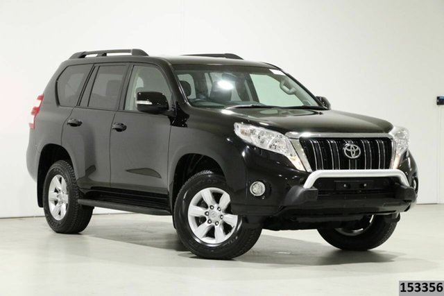 Used Toyota Landcruiser Prado GDJ150R MY16 GXL (4x4) Bentley, 2015 Toyota Landcruiser Prado GDJ150R MY16 GXL (4x4) Black 6 Speed Automatic Wagon
