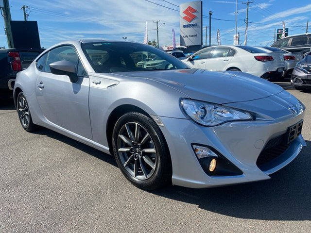 Used Toyota 86 ZN6 GTS Cardiff, 2015 Toyota 86 ZN6 GTS Silver 6 Speed Manual Coupe