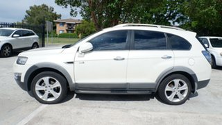 2012 Holden Captiva CG Series II MY12 7 AWD LX White 6 Speed Sports Automatic Wagon