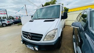 2007 Mercedes-Benz Sprinter NCV3 318CDI High Roof MWB White 5 Speed Automatic Van