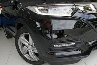 2020 Honda HR-V MY21 VTi-S Crystal Black 1 Speed Constant Variable Hatchback.
