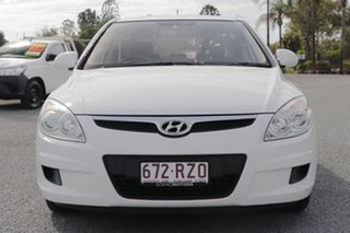 2010 Hyundai i30 FD MY10 SX Ceramic White 4 Speed Automatic Hatchback