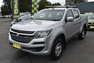 2017 Holden Colorado RG MY17 LS Pickup Crew Cab 4x2 Silver 6 Speed Sports Automatic Utility