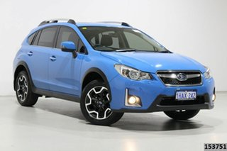 2016 Subaru XV MY16 2.0I-S Blue Continuous Variable Wagon.