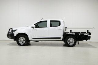 2018 Holden Colorado RG MY18 LS (4x4) White 6 Speed Manual Crew Cab Chassis