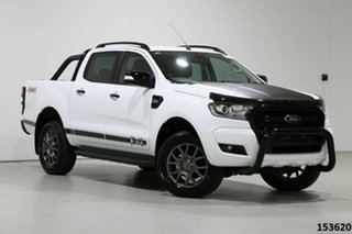 2018 Ford Ranger PX MkII MY18 FX4 Special Edition White 6 Speed Manual Double Cab Pick Up.