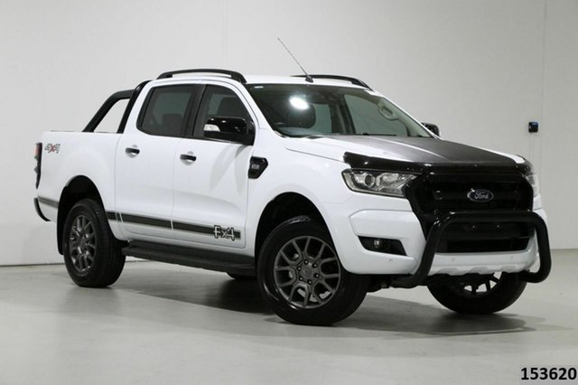 Used Ford Ranger PX MkII MY18 FX4 Special Edition Bentley, 2018 Ford Ranger PX MkII MY18 FX4 Special Edition White 6 Speed Manual Double Cab Pick Up