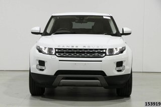 2014 Land Rover Evoque LV MY15 TD4 Pure White 9 Speed Automatic Wagon.