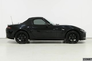 2016 Mazda MX-5 ND (K) MY17 Roadster GT Black 6 Speed Manual Convertible