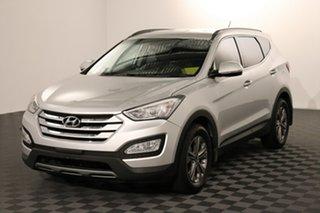 2015 Hyundai Santa Fe DM2 MY15 Active Silver 6 speed Automatic Wagon.