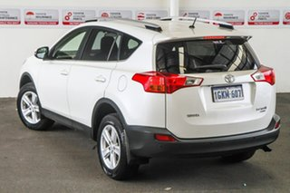 2013 Toyota RAV4 ALA49R GXL (4x4) Crystal Pearl 6 Speed Manual Wagon.