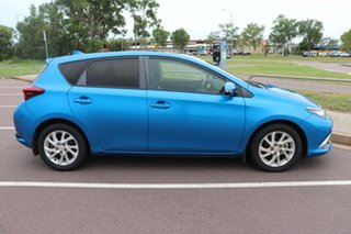 2016 Toyota Corolla ZRE172R Ascent S-CVT Blue Gem 7 Speed Automatic Hatchback.