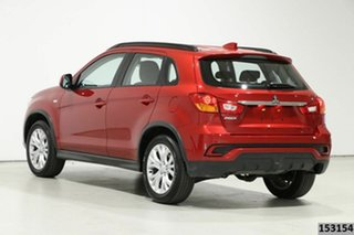 2019 Mitsubishi ASX XC MY19 ES (2WD) Red Continuous Variable Wagon