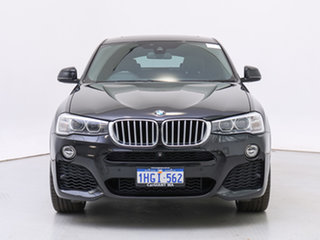 2016 BMW X4 F26 MY15 xDrive 35D Black 8 Speed Automatic Coupe.