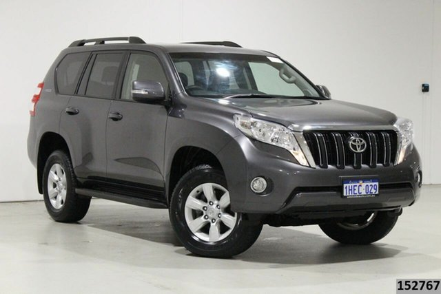Used Toyota Landcruiser Prado GDJ150R MY16 GXL (4x4) Bentley, 2016 Toyota Landcruiser Prado GDJ150R MY16 GXL (4x4) Graphite 6 Speed Automatic Wagon