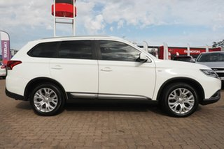 2020 Mitsubishi Outlander ZL MY20 ES 7 Seat (2WD) White Continuous Variable Wagon