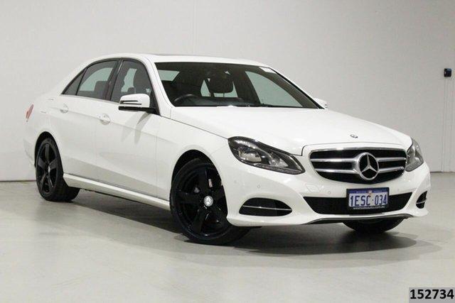 Used Mercedes-Benz E200 212 MY14 Bentley, 2014 Mercedes-Benz E200 212 MY14 White 7 Speed Automatic Sedan