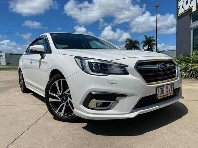Used Subaru Liberty B6 MY18 2.5i CVT AWD Premium Townsville, 2018 Subaru Liberty B6 MY18 2.5i CVT AWD Premium White/170418 6 Speed Constant Variable Sedan