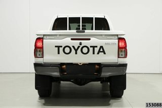 2018 Toyota Hilux GUN136R MY19 SR Hi-Rider White 6 Speed Automatic Double Cab Pick Up