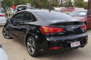 2013 Kia Cerato YD MY14 Koup SI Black 6 Speed Sports Automatic Coupe.