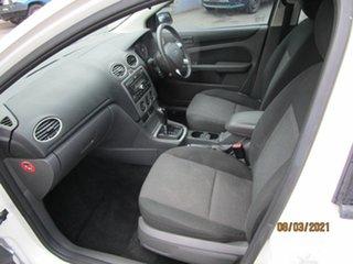 2006 Ford Focus LS LX White 4 Speed Automatic Sedan
