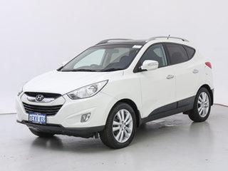 2012 Hyundai ix35 LM MY11 Highlander (AWD) White 6 Speed Automatic Wagon.