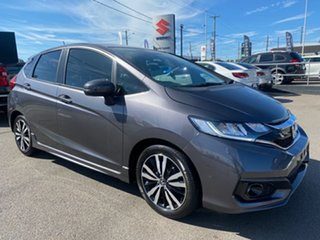 2018 Honda Jazz GF MY19 VTi-L Grey 1 Speed Constant Variable Hatchback.