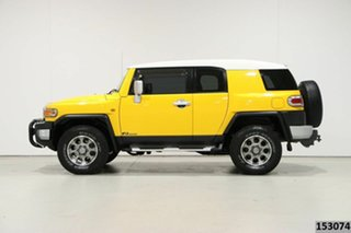 2011 Toyota FJ Cruiser GSJ15R Yellow 5 Speed Automatic Wagon