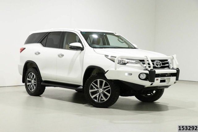 Used Toyota Fortuner GUN156R MY18 Crusade Bentley, 2018 Toyota Fortuner GUN156R MY18 Crusade White 6 Speed Automatic Wagon