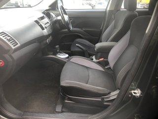 2008 Mitsubishi Outlander ZG MY09 LS (7 Seat) Grey 6 Speed CVT Auto Sequential Wagon