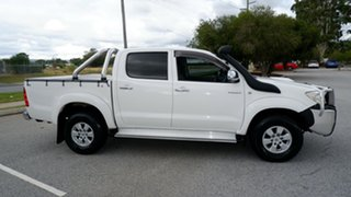2009 Toyota Hilux KUN26R MY09 SR5 White 4 Speed Automatic Utility.