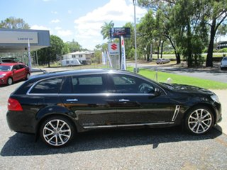2017 Holden Calais VF II MY17 V Sportwagon Black 6 Speed Sports Automatic Wagon.