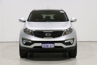 2012 Kia Sportage SL MY12 Platinum (AWD) Silver 6 Speed Automatic Wagon.