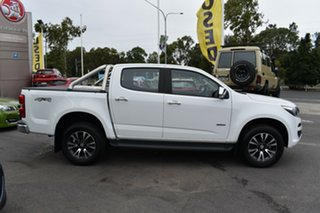 2016 Holden Colorado RG MY16 LTZ Crew Cab White 6 Speed Manual Utility.