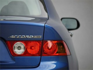 2004 Honda Accord Euro CL Luxury Blue Automatic Sedan